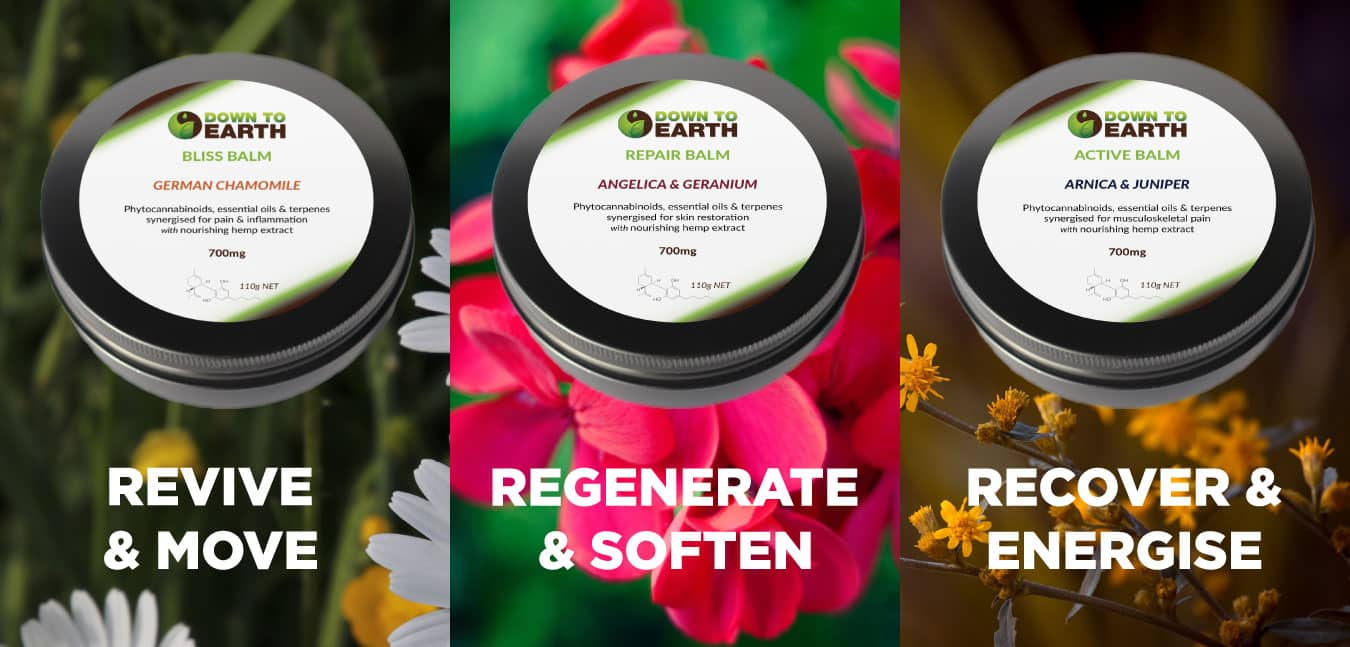 CBD Topical Balms